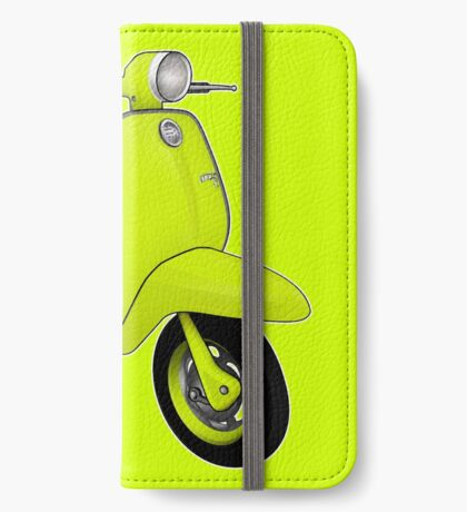 Scooter T-shirts Art: J50 Deluxe Scooter Design iPhone Wallet