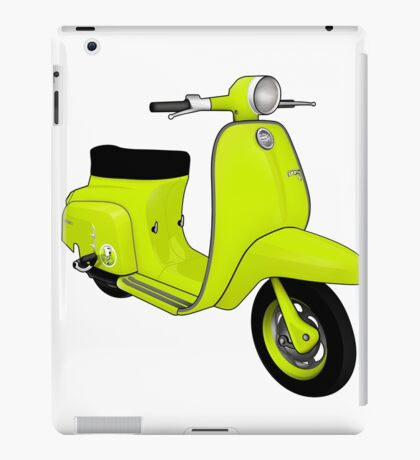 Scooter T-shirts Art: J50 Deluxe Scooter Design iPad Case/Skin