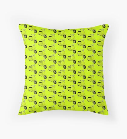 Scooter T-shirts Art: J50 Deluxe Scooter Design Floor Pillow