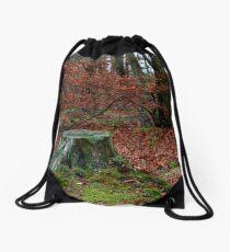 Forest Floor Drawstring Bag