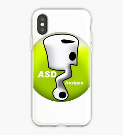 ASD Lime color iPhone Case
