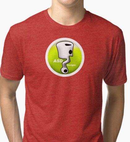 ASD Lime color Tri-blend T-Shirt