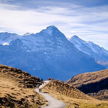 Eiger, photographed from Grindelwald First by mhowellsmead