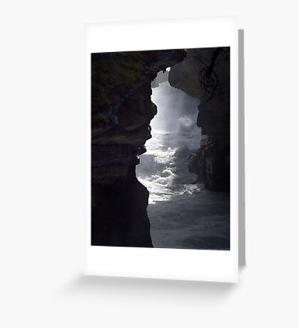 In The Gorge Greeting Card