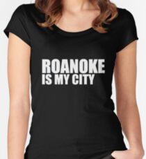 Roanoke Is My City Women's Fitted Scoop T-Shirt