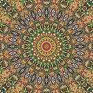 Kaleidoscope Mandala by Kelly Dietrich