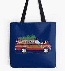 Christmas Dogs Coddiwompling Tote Bag