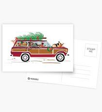 Christmas Dogs Coddiwompling Postcards