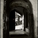 Church Door by Laura Johnson