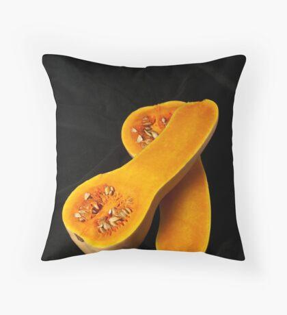Butternut Squash Throw Pillow