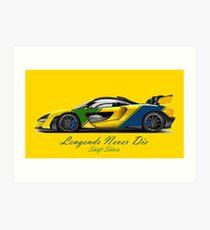 McSenna - Senna Inspired Art Print