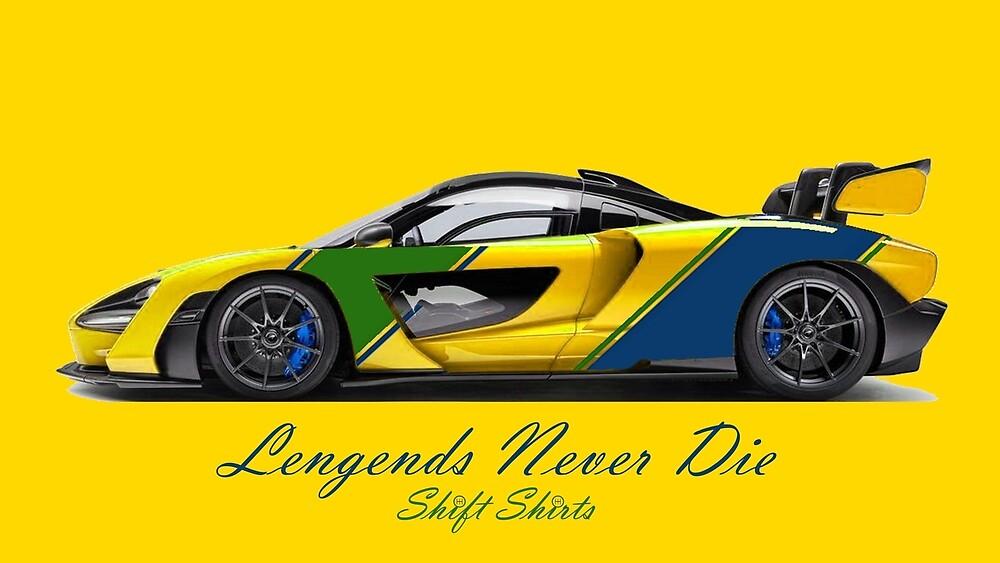 McSenna - Senna Inspired by ShiftShirts