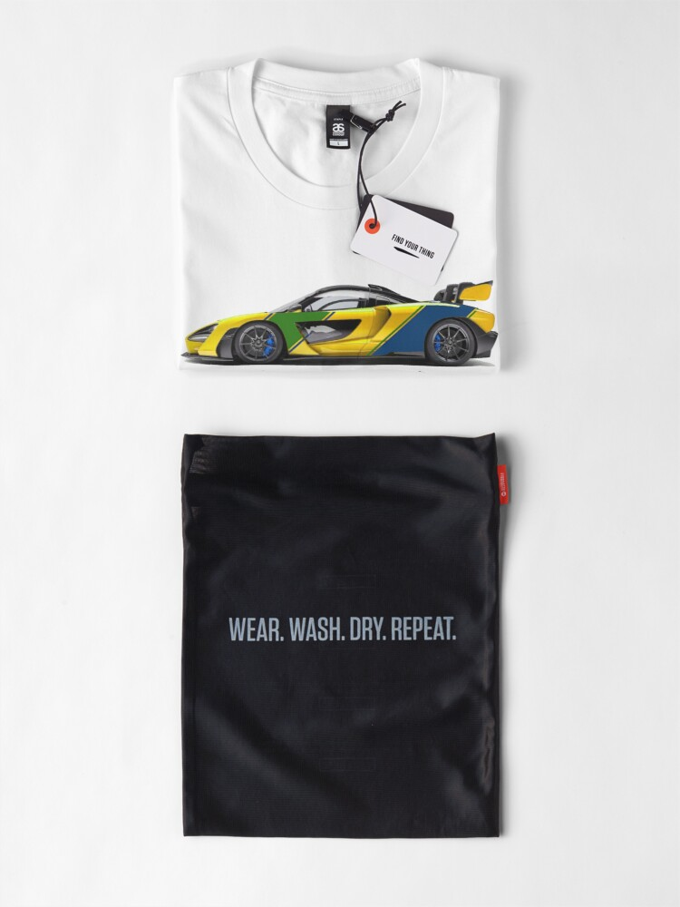 Alternate view of McSenna - Senna Inspired Premium T-Shirt