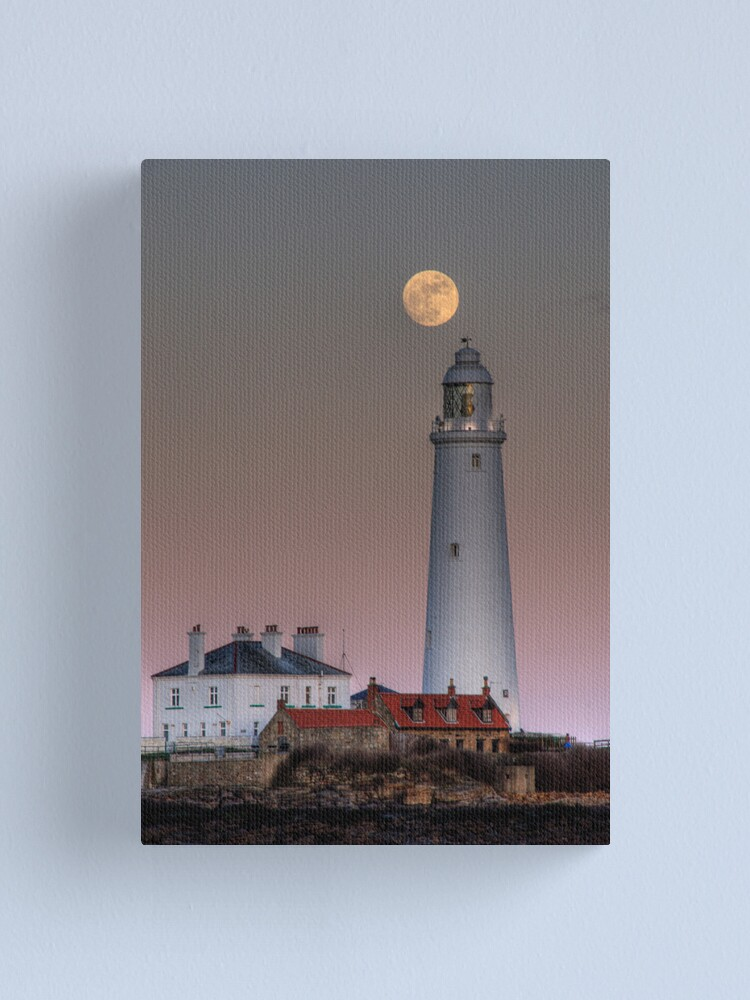 Alternate view of St Mary's moon Canvas Print
