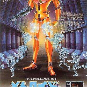 Famicom Metroid Poster by PKtora