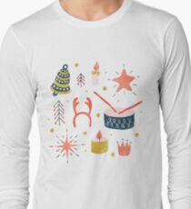 Christmas with Toys Long Sleeve T-Shirt