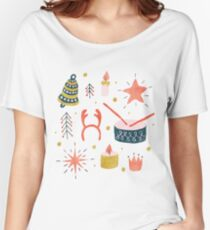 Christmas with Toys Women's Relaxed Fit T-Shirt