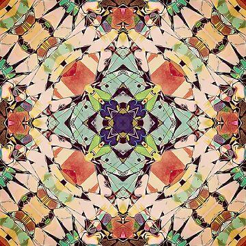 Abstract Mandala by perkinsdesigns