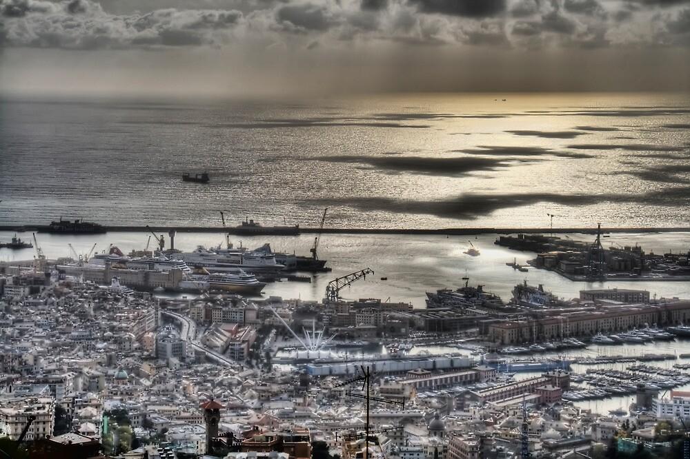 Genoa Port by oreundici