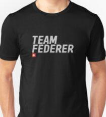 Team Roger Federer Unisex T-Shirt