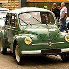 Renault 4Cv - Vintage French Car by Buckwhite