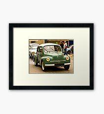 Renault 4Cv - Vintage French Car Framed Print