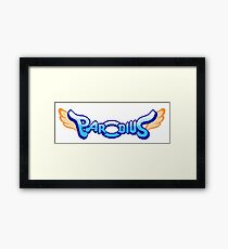 Parodius - Arcade Title Screen Framed Print