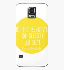 Du bist berufen, du selbst zu sein - Print  Case/Skin for Samsung Galaxy
