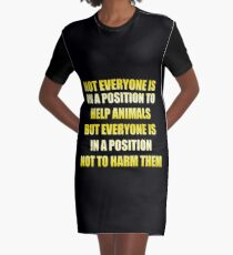 Not Everyone  Graphic T-Shirt Dress