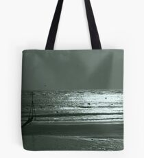 windy exmouth beach  Tote Bag