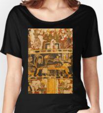 Egyptian Art Pattern Women's Relaxed Fit T-Shirt