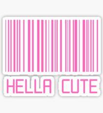 Hella Cute Barcode Sticker