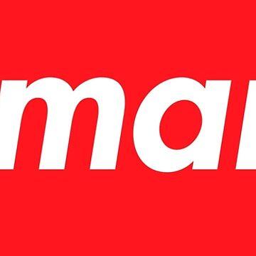 Hello My Name Is Amara Name Tag by efomylod