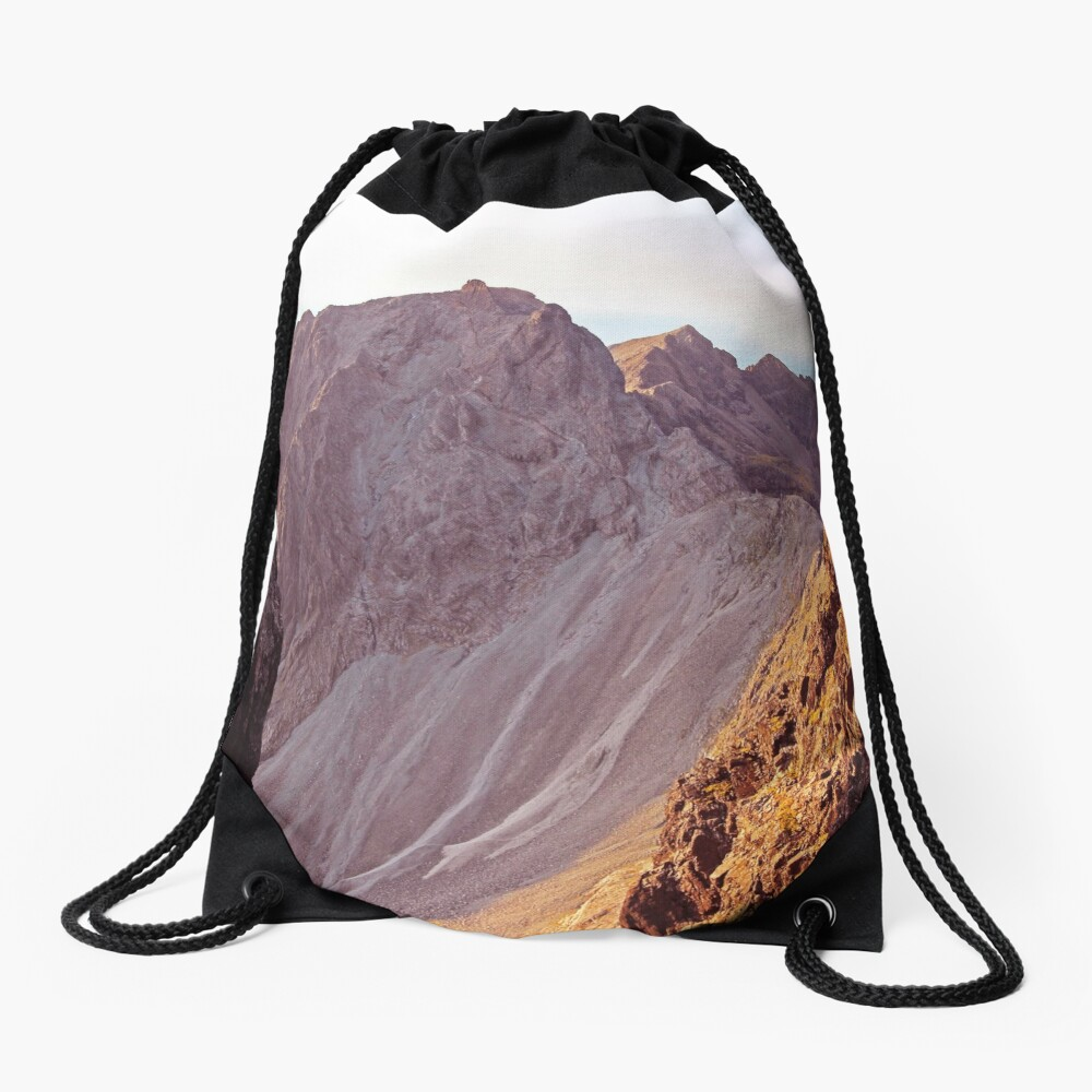 From The Great Stone Chute Drawstring Bag