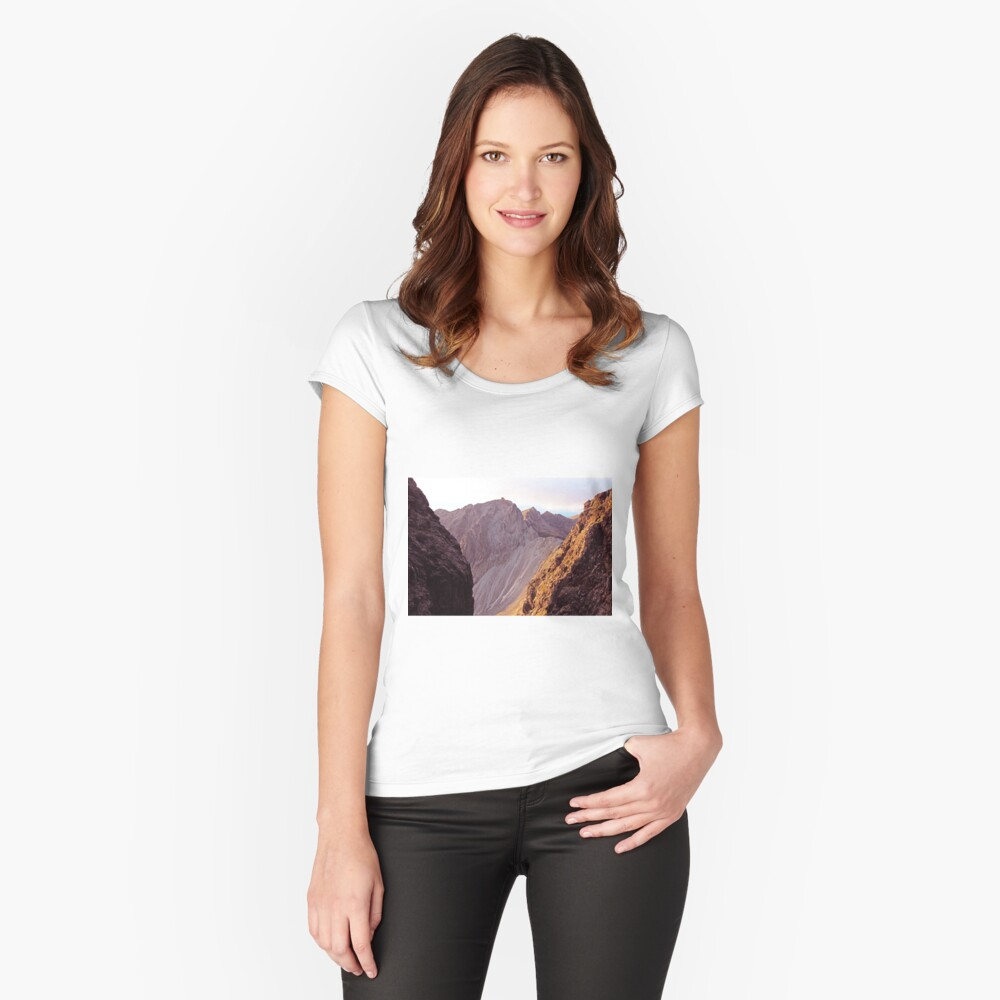 From The Great Stone Chute Fitted Scoop T-Shirt