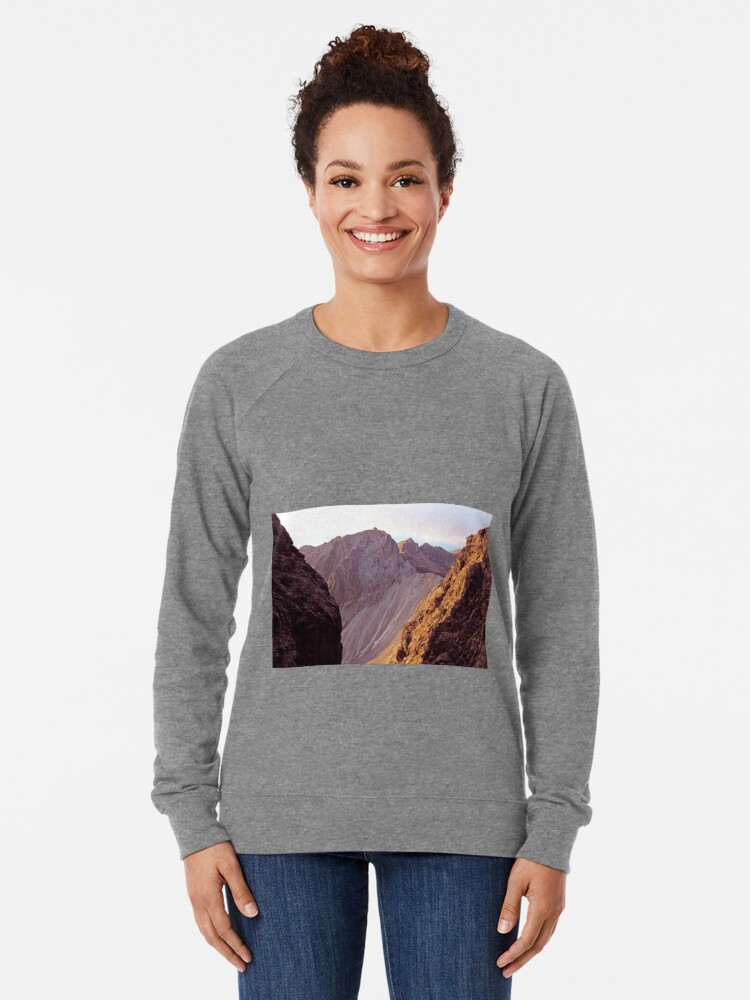 Alternate view of From The Great Stone Chute Lightweight Sweatshirt