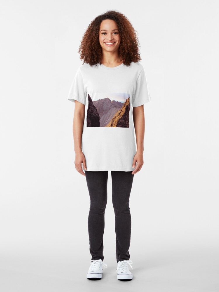 Alternate view of From The Great Stone Chute Slim Fit T-Shirt
