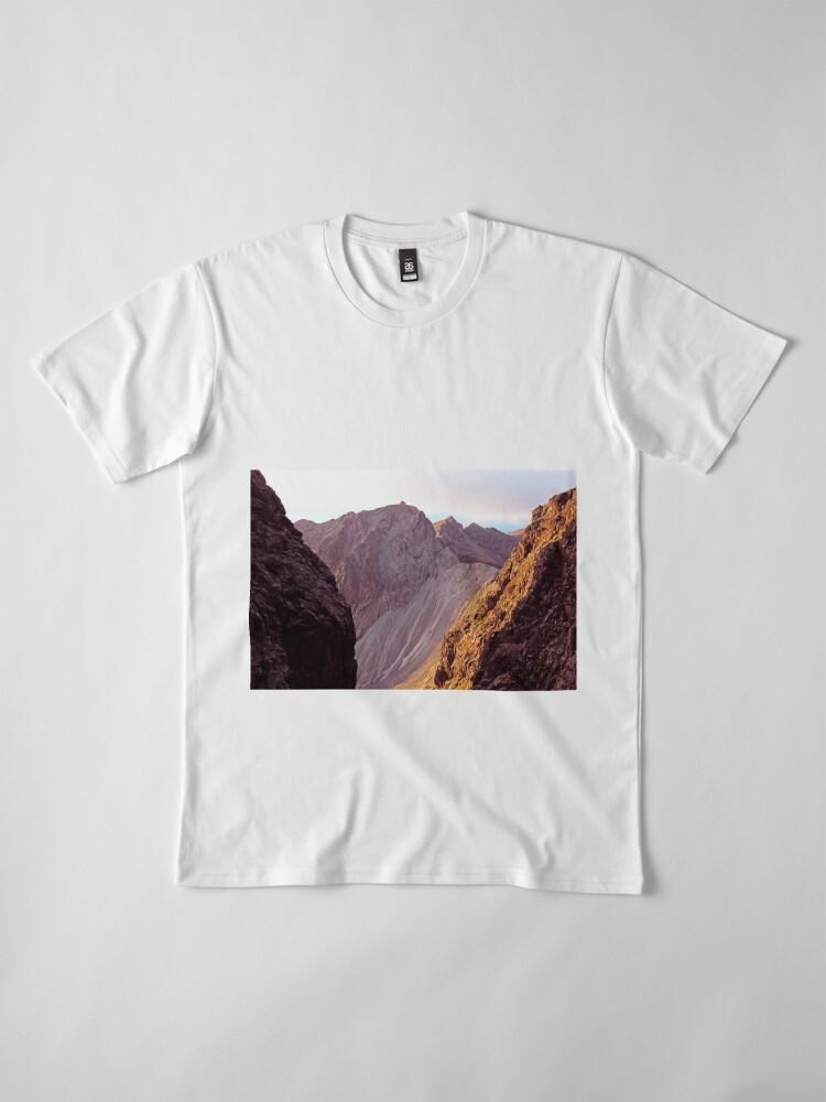 Alternate view of From The Great Stone Chute Premium T-Shirt