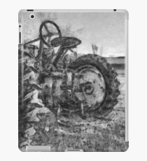 Day is Done Vintage Tractor Pencil iPad Case/Skin