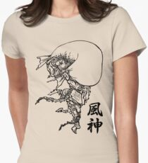 Fujin - Wind God Women's Fitted T-Shirt