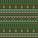 Christmas Sweater in Traditional Colors by latheandquill