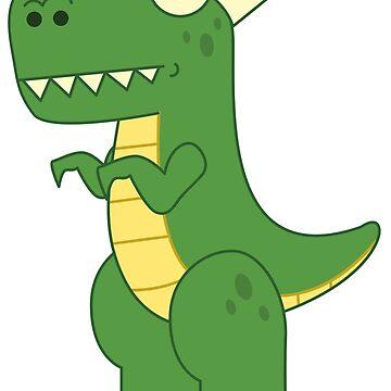 T-Rex Nurse Dinosaur Gift by UltimateTWorld