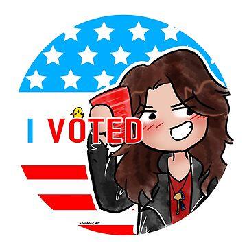 I Voted Wynonna by NonsuchTheFirst