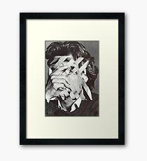 CONFUSING Framed Print