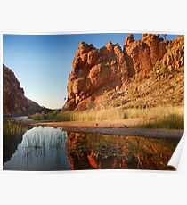 Glen Helen Gorge, Alice Springs Poster