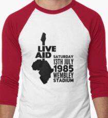 Live aid Men's Baseball ¾ T-Shirt