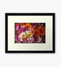 Lovina's Garden, Autumn's End Framed Print