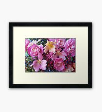 Phemie's October Garden Framed Print
