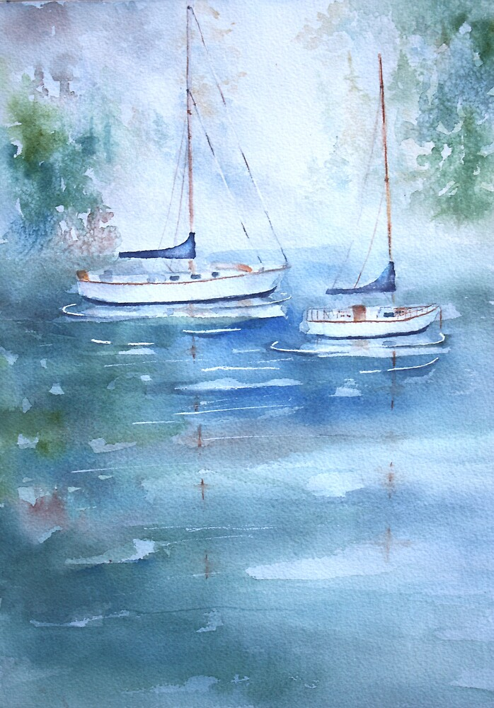 Misty Morn by Bobbi Price