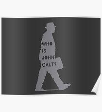 Wer ist John Galt? - Atlas zuckte die Achseln Poster